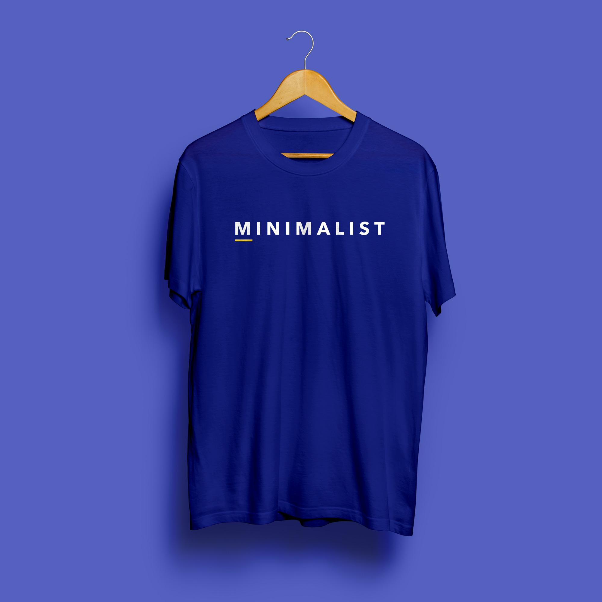 Minimalist Round Neck T-Shirt