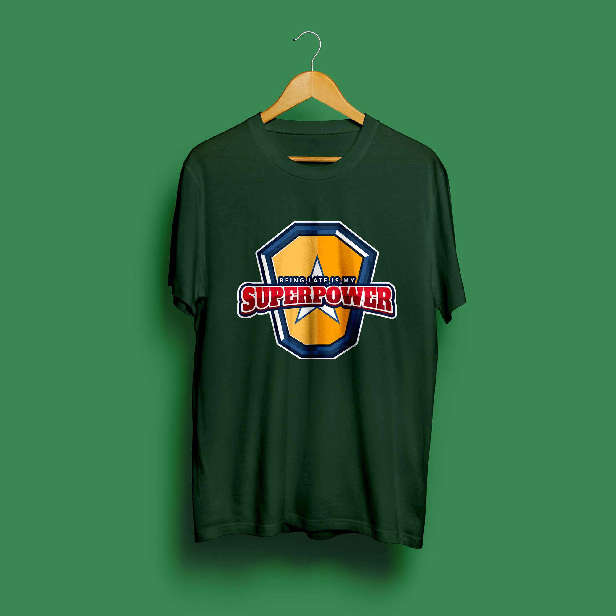Superpower Round Neck T-Shirt