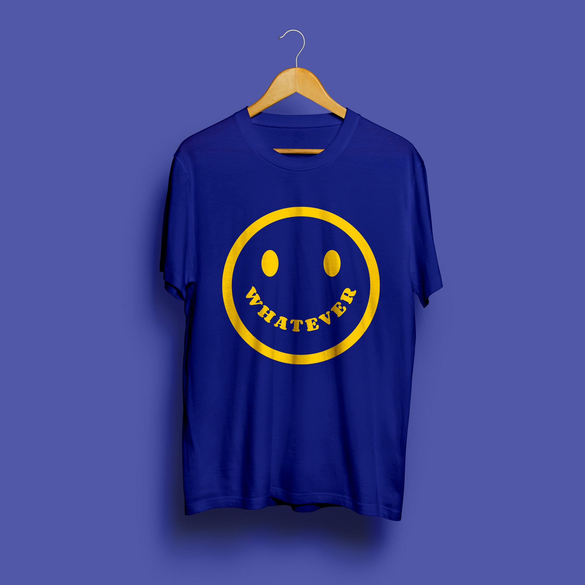 Whatever Round Neck T-Shirt