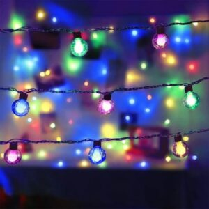 Clear Globe Decorative String Lights (20 Lamps)