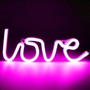 Love LED Light
